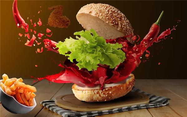 享多味汉堡