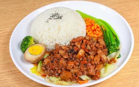 台湾卤肉饭勾芡的技巧其实很简单