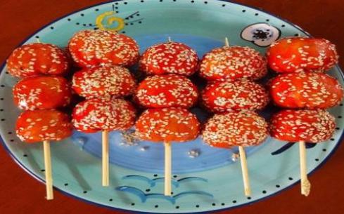 到杭州煌旗学习冰糖葫芦,学习时间短优势大