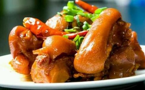 大盆猪脚美容养颜,学习大盆猪脚就去南京食尚香