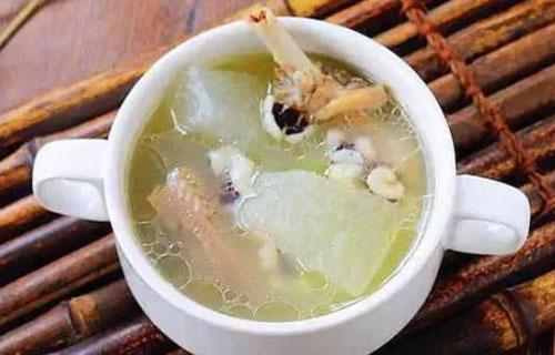 绿豆薏仁鸭子汤