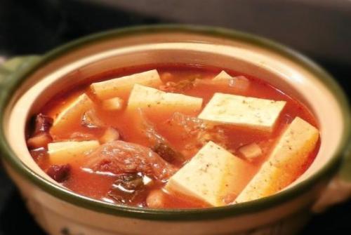 辣白菜豆腐