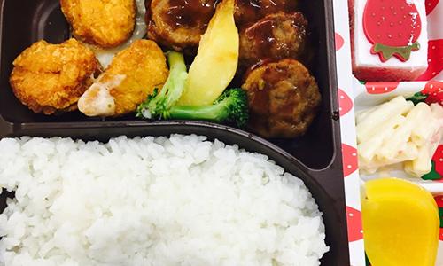 满口意中式快餐