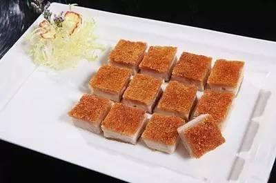 冰烧三层肉(生烧法)