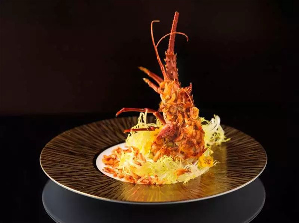樱花虾半煎小龙虾的做法