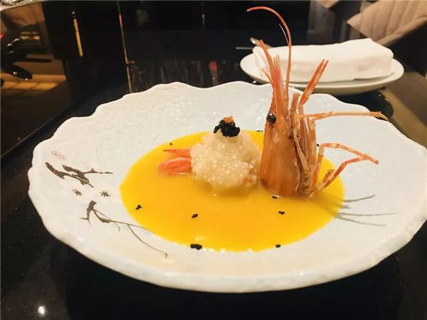 珍醋珠水晶金汤牡丹虾球