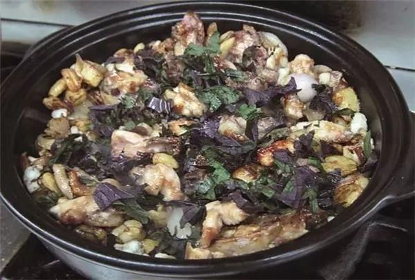 紫苏香螺文昌鸡的做法