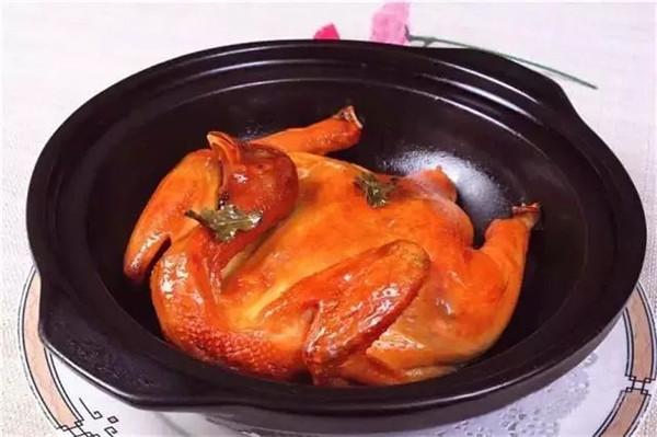 盐烤茶香鸡的做法