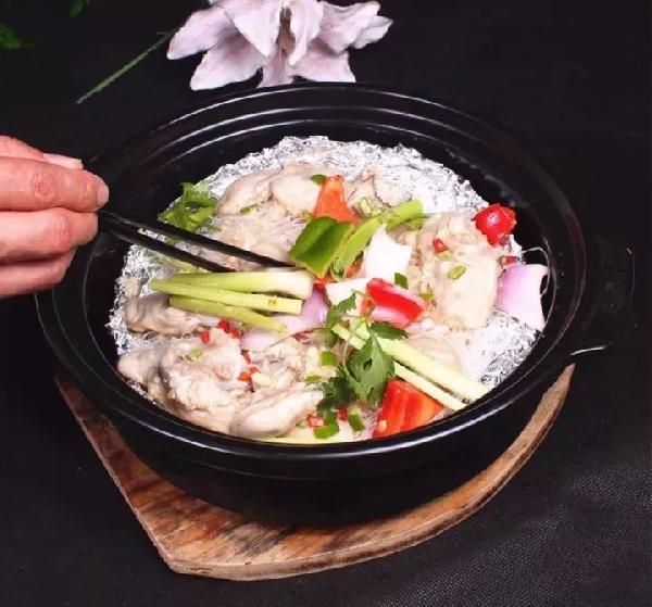 石煲焗生蚝的做法