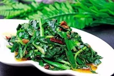 薄荷炒韭菜