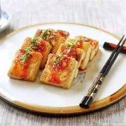 煎汁毛豆腐
