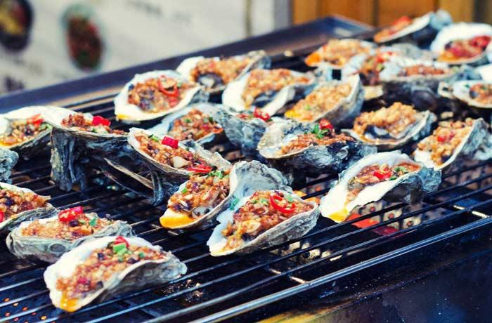 烤生蚝培训课程