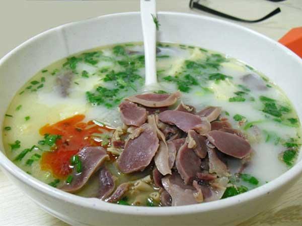广州老鸭血粉丝汤技术培训课程