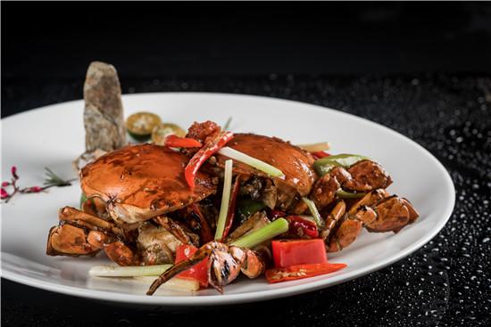 海南胡椒炒和乐蟹