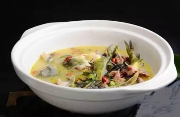 浓汤豆浆鱼