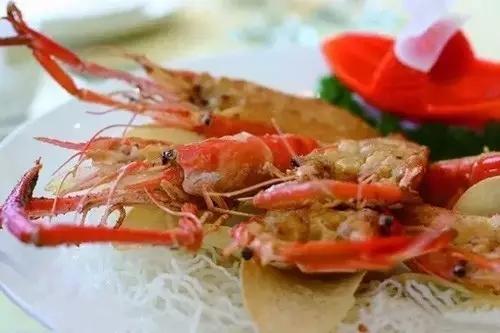 海胆酱煎焗大虾