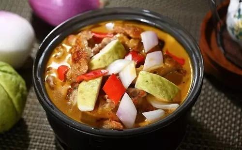 椰子汁番石榴咖喱鸡