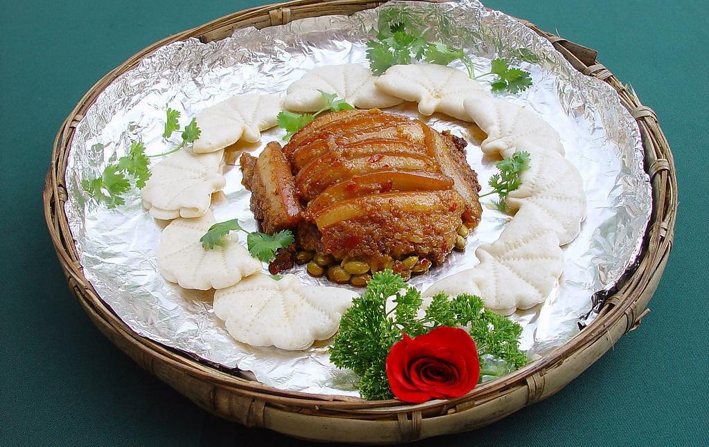 西安荷叶饼粉蒸肉培训班