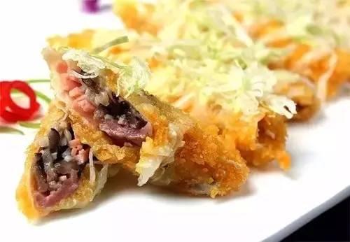 沙律牛肉卷