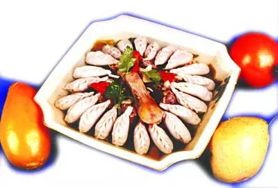 酸菜水饺鸭