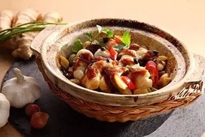 姜豉油生焗笋壳鱼