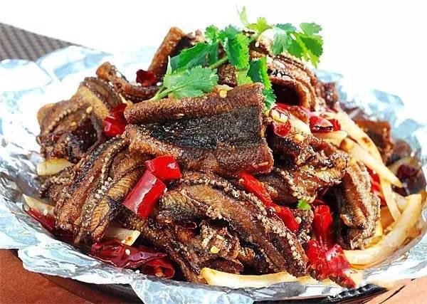 铁板香辣鳝片