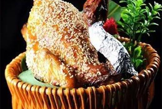 果木炉烧鸡