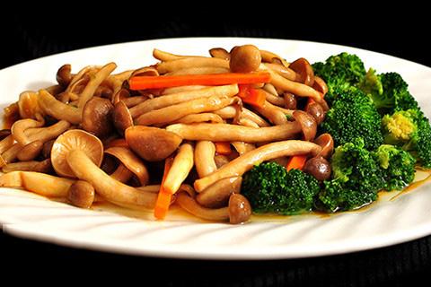 鲍汁蟹味菇