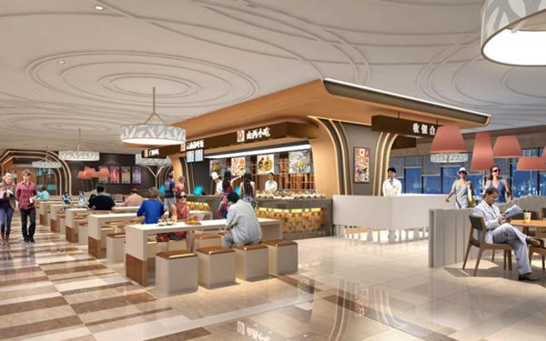 美食广场和餐厅正成为美国增长最快的零售领域