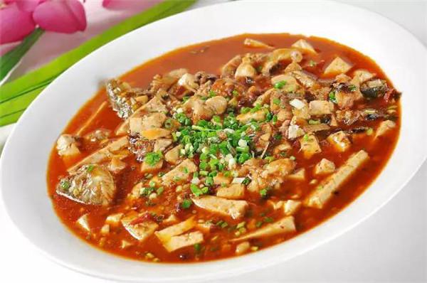 豆腐炖财鱼