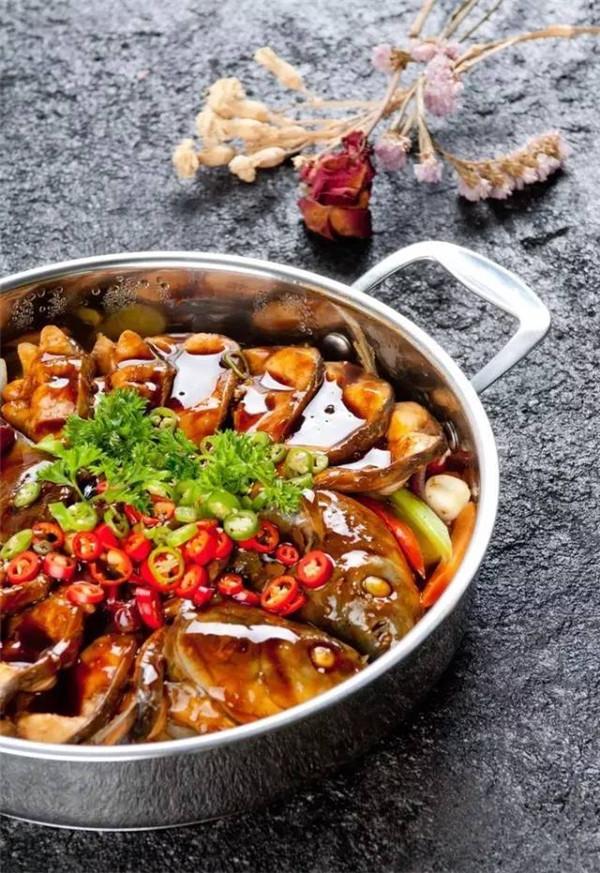 干锅鱼烧豆腐