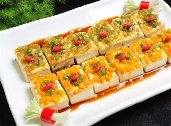 农家双椒酿豆腐