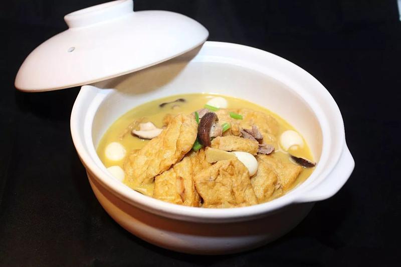 砂锅泉水油豆腐