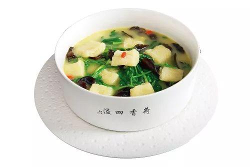 浓香荠菜烩珍菌