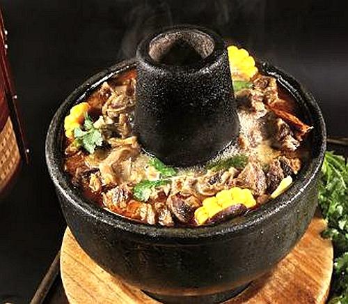 传统牛腩暖锅