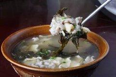 老盐菜汤粑汤