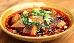 麻婆卤豆腐