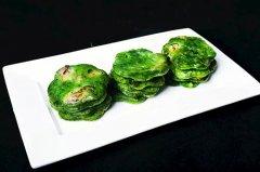 野菜牡蛎饼