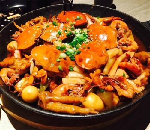 深圳肉蟹煲培训课程