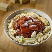 炖肉白菜冻豆腐粉