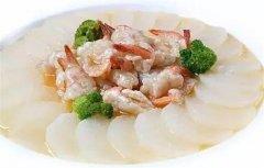 萝卜白玉虾