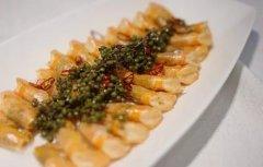 鲜花椒焗沙虾