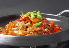 干锅黄牛肉