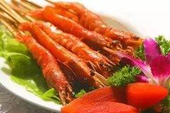 大排档烤虾