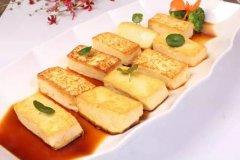黄金泉水豆腐