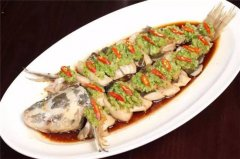姜茸蒸鮰鱼
