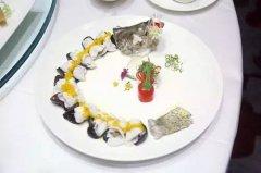 桂花鱼鹅肝卷