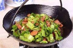 铁锅芥菜牛肉