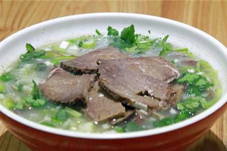 张姐淮南牛肉汤加盟项目强如其名,加盟创业好选择
