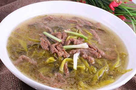 六大将牛肉汤味道深入人心,深受人们喜爱。